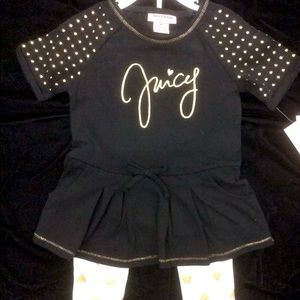 Juicy Couture Black & Bling Outfit